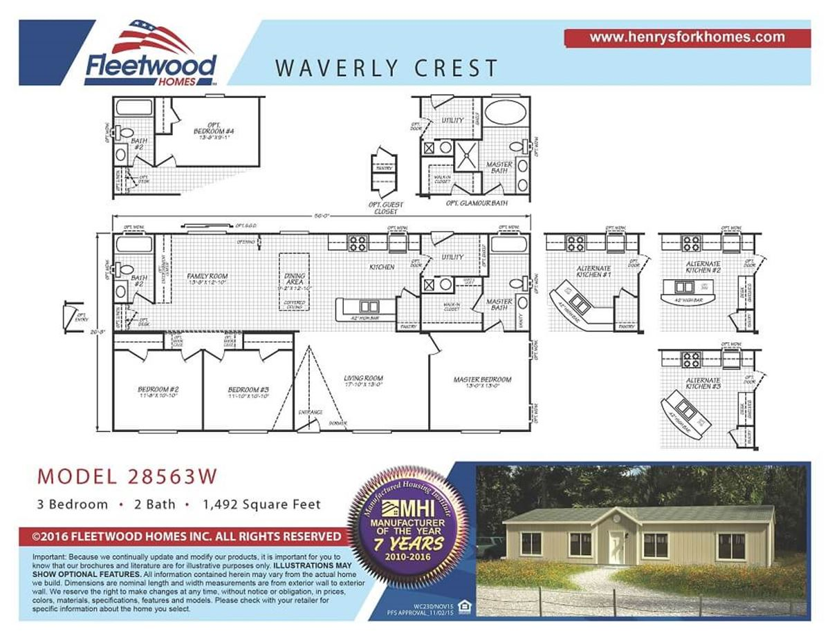 Fleetwood Waverly Crest | Henry's Fork Homes, Once You're Here, You
